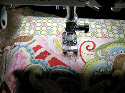 stitch pocket lines