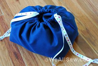 Crumb Catcher and Bag - DIY