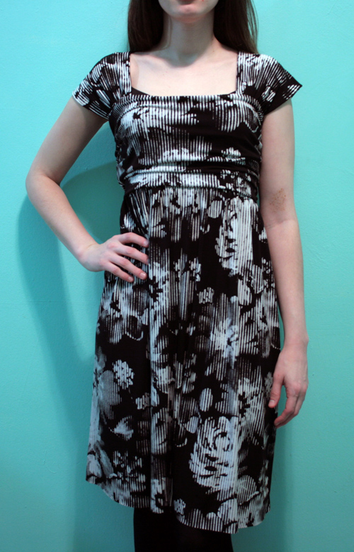 DIY Square Deal Dress