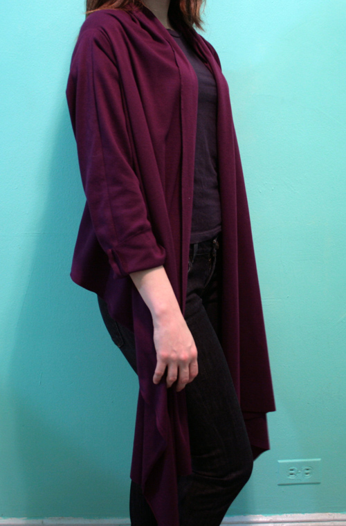 Chic Wrap DIY sewing project