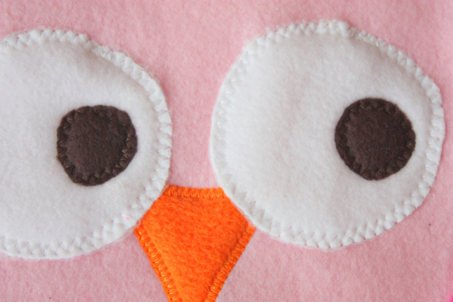 How to Make a Snuggly Owl Pillow | WeAllSew