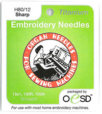 organ titanium needles