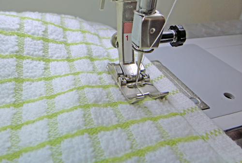 stitch the seam