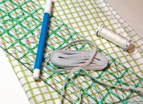 DIY Grocery Bag Holder - materials