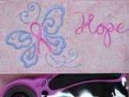 sew pink -- ribbon pouch