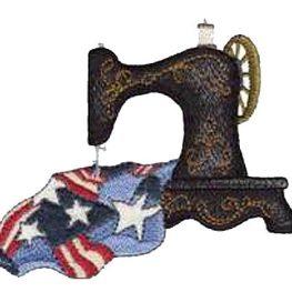 Patriotic Sewing Machine