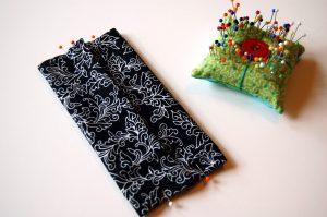 sew a tissue holder