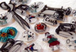shrinky dink sewing notions