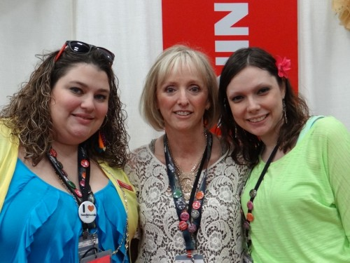 The lovely ladies from the Sew Much More BERNINA store in Austin