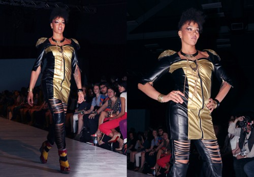 """Rock Chic"" by BurdaStyle/BERNINA StyleX design challenge winner ""nicolehelf"""