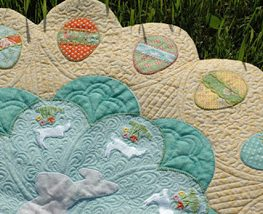 bunny table topper