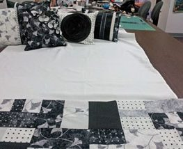 Upcycled bedspread #sew #diy