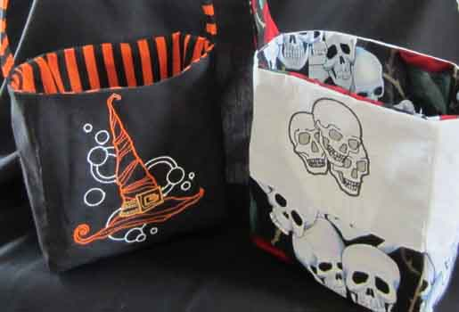 DIY Halloween Trick-or-Treat Bags