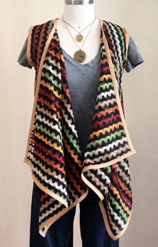 DIY Flowing Vest