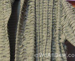 Serged cardigan by Ilse Heine. #sew #serge #diy #weallsew.com