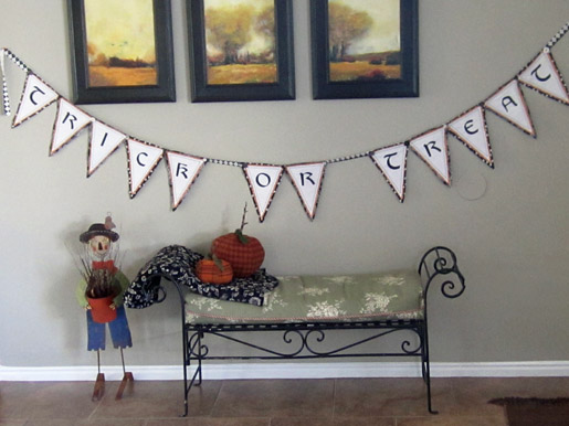 Halloween Trick-or-Treat Banner