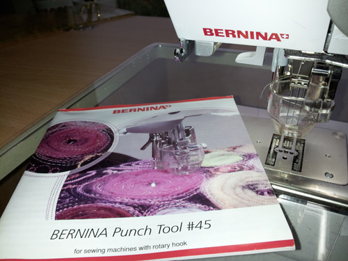 BERNINA Needle Punch Attachment