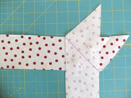 Danish Wreath - make bias strips