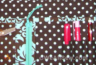 Sewing Tote by Karen Ann Betts #sew #diy #WeAllSew.com