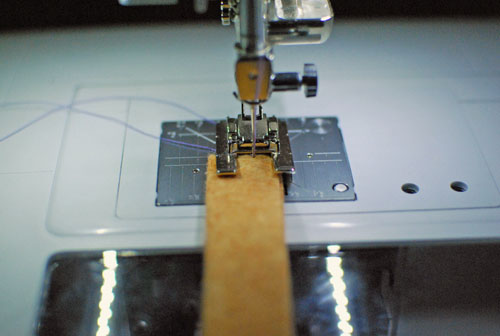 stitch close to edge
