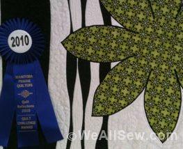 Brandy Maslowski's quilt - That Bloomin' Curve #diy #sew #quilt #weallsew.com