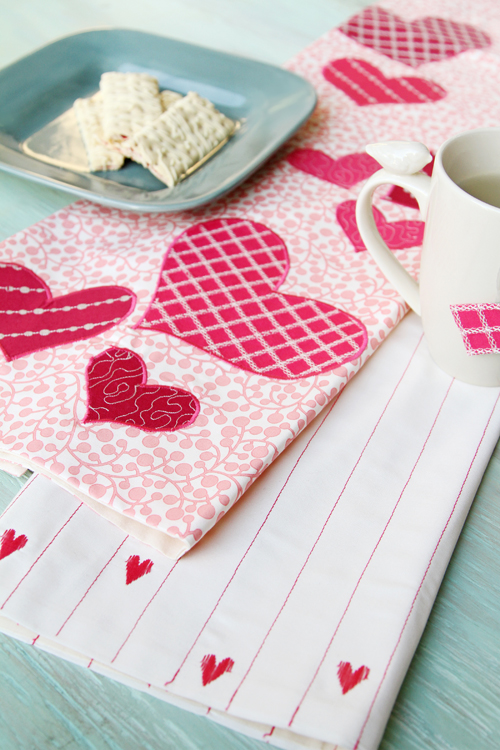 Be My Valentine Towels 4