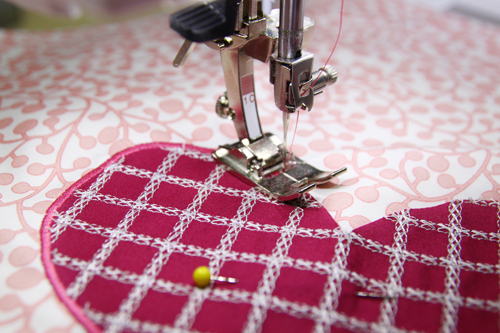 How To Make Be My Valentine Kitchen Towels WeAllSew Stunning How To Make A Satin Stitch On A Sewing Machine