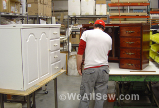 & Exploring Sewing Cabinets and Tables | WeAllSew