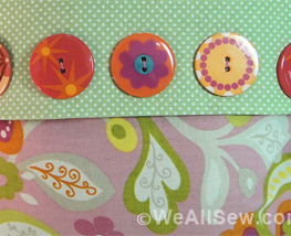 Just SEW It Webinar: Company's Coming free project instructions for pillow, mug rug, bedside basket #sew #free project #sewing tutorial #weallsew