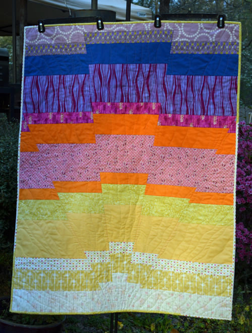 Your Sunrise Baby Quilt Photos