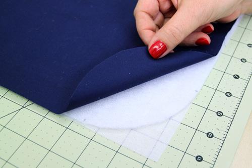 Artsy Purse - layer the fabrics