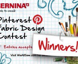 BERNINA WeAllSew Fabric Design Contest 2013 Winners