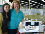 kimberly einmo's new sewing machine - bernina 820 #sew #diy #sewing machine #buying a sewing machine #weallsew