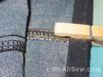jeans hem