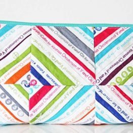 Selvage Zipper Pouch