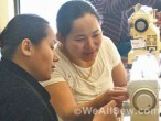 the sewing machine project welcomes Bhutan immigrants #sew #donate #assist #charity #weallsew