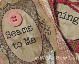 Seams to Me Just SEW It webinar #sew #seam #beginner #weallsew #free tutorial