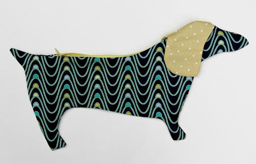 dachshund pencil pouch