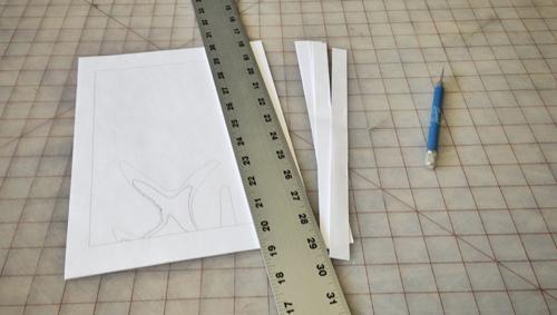 trim paper sheets