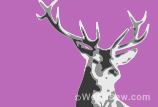 deer quilt sew-along #luke haynes #quilt #sew-along #portrait quilt #modern quilt #applique #free tutorial #free project #diy #weallsew