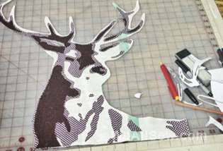 Deer Quilt Sew-Along with LUKE Haynes – Week Two | WeAllSew : deer quilt patterns - Adamdwight.com