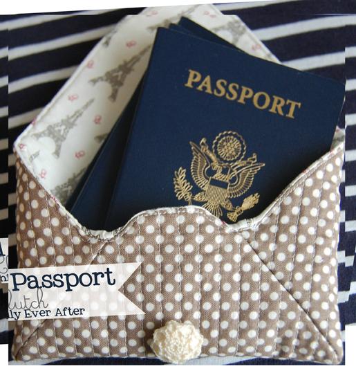 passport clutch