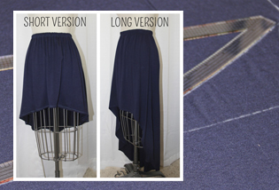 Diy High Low Skirt Weallsew