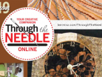 Through the Needle Online Issue 19 #bernina #magazine #through the needle #publication #sew #diy #quilt #applique #software #serge #overlock #heirloom #button sew-on foot #circular embroidery #embroidery #green #recycle #upcycle #reuse #mug rug #coaster #home dec #holiday #gift
