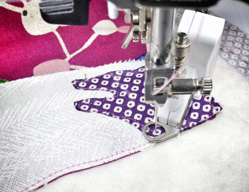 free-motino quilting