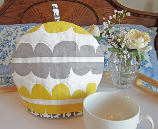 DIY Quilted Tea Cozy