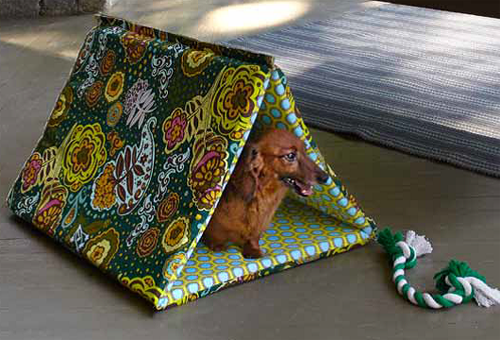 How To Sew A Puppy Hut And Dog Leash Weallsew