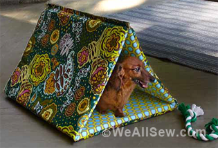 & How to Sew a Puppy Hut and Dog Leash | WeAllSew
