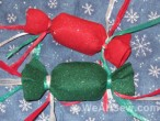 #bernina #weallsew #candy wrapper ornament #christmas ornament #felt ornament #holiday #holiday decor #angie steveson #lunchboxquilts #gifts #free sewing project #free sewing tutorial