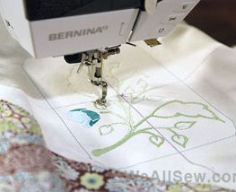 #bernina #BERNINA sewing machines star in Craftsy classes #BERNINA on Craftsy #amanda murphy #how to embroider on quilts #how to sew totes and bags #weallsew